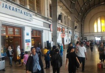 Stasiun Jakarta Kota, Bangunan dengan Balutan Art Deco yang Kental