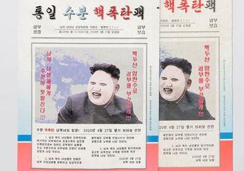 Wajah Kim Jong Un Terpampang di Kemasannya, Masker 'Nuklir' Ini Laris Manis di Korea Selatan