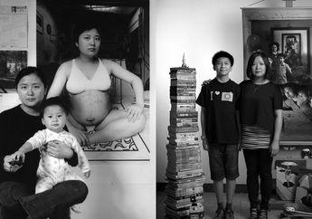 Selama 17 Tahun Wanita Ini Memotret Putranya sejak di Kandungan dengan Cara Sangat Unik, Lihat Transformasinya