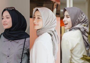 Tren Gaya Hijab 2019 dengan Model Segi Empat ala Selebgram Hijabers!