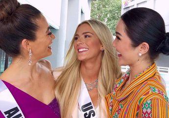 Ejek Peserta Lain Tak Bisa Berbahasa Inggris, Miss USA Minta Maaf Terkait Ucapannya