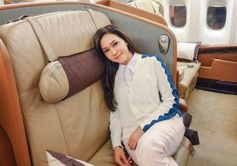 Liburan Naik Jet Pribadi, Maia Estianty Tetap Tampil Sederhana