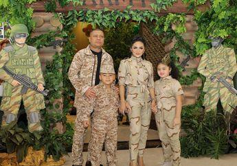 Intip Gaya Kahiyang Ayu dengan Baju ala Militer saat Ajak Sedah Mirah ke Ulang Tahun Putra KD dan Raul Lemos