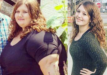 Perempuan Ini Sukses Turunkan 136 Kg  Berat Badannya dengan 5 Tips Sederhana Berikut!
