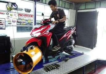 Sadis! Cuma Ganti 3 Komponen Ini, Power Honda Vario 125 Melonjak 0,43dk
