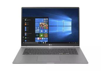 LG Perkenalkan Laptop 17 Inci Teringan di Dunia, Cuma 1,3 Kilo