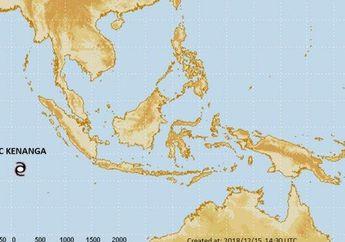 Info BMKG : Bibit Siklon Tropis Kenanga, dan Potensi Cuaca Ekstrim di Beberapa Wilayah Indonesia