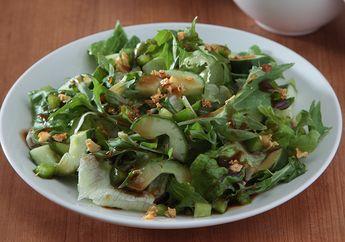 Resep Membuat Green Salad With Balsamic Garlic, Sarapan Enak yang Dijamin Anti Bikin Gendut