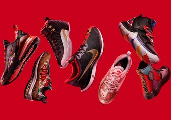 Sambut Tahun Baru Cina, Nike Rilis Koleksi Sneakers yang Terinspirasi dari 12 Shio