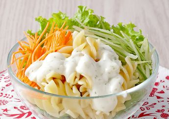 Resep Membuat Salad Pasta yang Bikin Si Kecil Doyan Makan Sayur