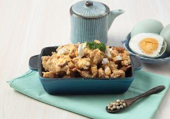 Jadi Camilan Gurih, Cobain Chicken Popcorn Saus Keju Telur Asin Ini