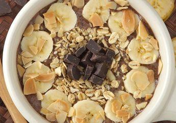 Resep Membuat Banana Chocolate Smoothies Bowl, Pasti Bikin Akhir Pekan Jadi Lebih Berkesan