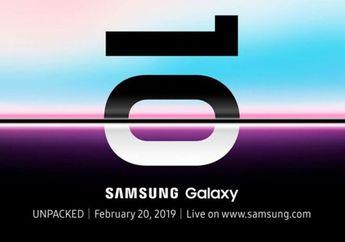 Samsung Buka Pre-Order Galaxy S10 di Indonesia Mulai 22 Februari