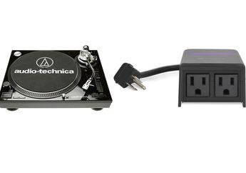 Galeri: Audio-Technica AT-LP120-USB dan iDevices Outdoor Switch