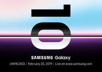 Apakah Samsung Galaxy S10 yang Akan Rilis Bawa Kamera di Dalam Layar?