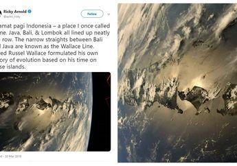 Keren! Astronot NASA Abadikan Foto Indonesia dari Luar Angkasa