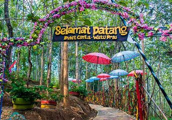 Spot Foto Indah nan Romantis Bukit Cinta di Klaten