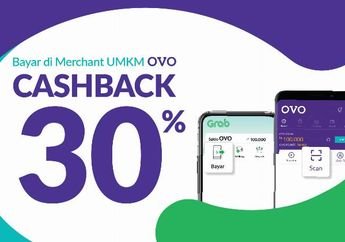 Cara Mencari Daftar Rumah Makan UMKM yang Berikan Promo Cashback OVO 30% Selama Januari 2019, Ada Puluhan Ribu Merchant!