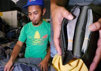 Beli Baju Bekas, Tak Disangka Pria Ini Temukan Uang Tunai Rp68 Juta, Ini yang Dilakukannya