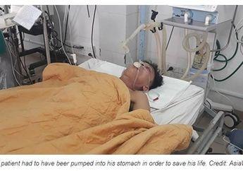 Demi Selamatkan Nyawanya, Dokter Tranfusikan 15 Kaleng Bir ke Perut Pasien Ini, Ini Alasannya