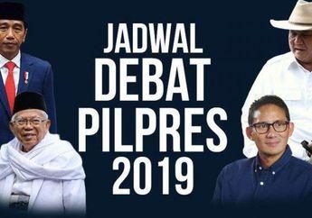 Link Live Streaming Debat Pilpres 2019 Kompas TV! Ada Judika Ikut Meriahkan Debat!