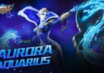 Rasakan Sensasi Dingin Aurora Mobile Legends Dalam Skin Aquarius