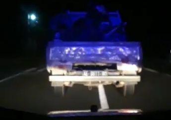 Tegang! Video Maling Motor Balap Drag Dikejar Polisi, Suara Sirine Kagetkan Warga