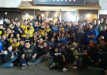 Cafe Tuwan Ropang Cibubur Diserbu 250 Pemilik Motor Yamaha NMAX, Ada Apa Nih?