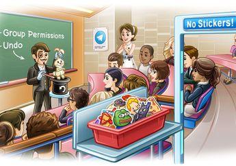 Telegram Messenger Tambah Fitur Kelola Grup dan Batalkan Hapus Pesan