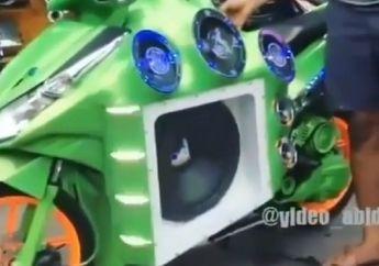 Video Honda Vario Dijejali Subwoofer Ukuran 15 Inci, Suaraya Sangar Abis!
