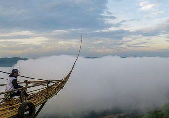 Jadi Destinasi Wisata yang Cocok di Musim Hujan, Nikmati Sensasi Foto di Perahu Awan Yogyakarta