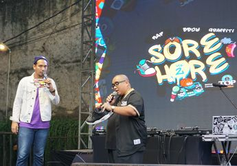 SORE HORE Vol II: Dari Nge-DJ, Dance Battle, Hingga Pameran Sneakers