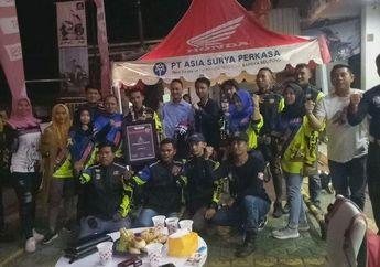 HPCI Chapter Bangka Menyambut Anggota Yang Ikut PCX Goes To Kilometer 0 Indonesia