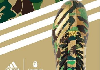 Rilis Hari Ini! Inilah Harga Sneakers Edisi Terbatas Adidas X BAPE