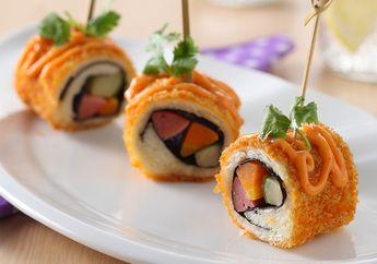 Resep Membuat Roti Goreng Gulung Ala Sushi, Menu Sarapan Seru Yang Gampang Dibuat