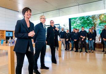 Setelah 5 Tahun, Angela Ahrendts Lepas Jabatan di Apple