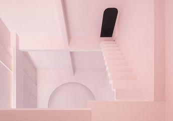 Ingin Ciptakan Ruang Misterius yang Tak Terbatas, Interior Wisma Ini Dirancang dengan Tangga Labirin dan Ilusi Optik