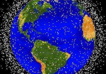 Objek Antariksa Seperti Kantung Plastik Terlihat di Atmosfer Bumi