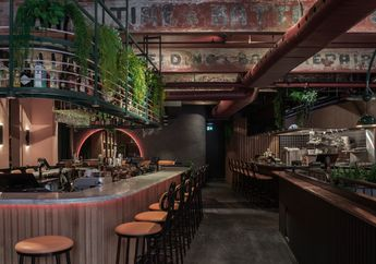 """Jack Rose, Inspirasi Restoran Bertema Tropis """"Kumuh"""" di Montreal"""