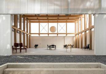 Intip Inspirasi Desain Paviliun Serbaguna yang Berfungsi Sebagai Toko, Galeri, dan Hunian Sekaligus