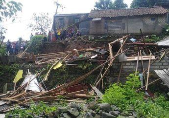 Curah Hujan Tinggi Sebabkan Longsor di Ciomas Bogor, Empat Orang Dinyatakan Meninggal Dunia