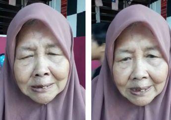 Ditelantarkan Anaknya, Seorang Nenek di Panti Jompo Menangis Minta Dijemput: Mak Sudah Menderita di Sini
