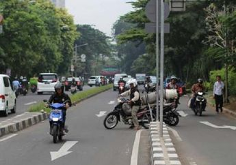 Anak Baru Gede Paling Banyak Lakukan Pelanggaran Melawan Arus Saat Naik Motor di Kota Depok
