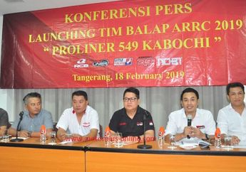 Fix! Knalpot Asal Indonesia Gandeng Tim Balap Ini Berlaga di ARRC 2019