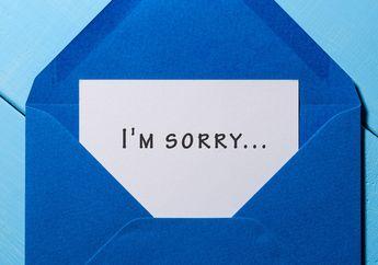 Meski Tampak Sederhana, Mengapa Kata 'Maaf' Sulit untuk Disampaikan?
