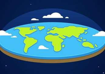 Gara-gara YouTube, Kelompok yang Percaya Bumi Datar kian Banyak