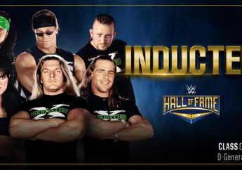 Hidup Pegulat Lebih Bermakna, D-Generation X Bakal Dilantik ke WWE Hall of Fame
