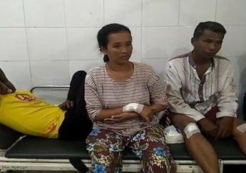 Tak Terima Ditegur Becaknya Halangi Jalan, Tetangga Bacok Satu Keluarga di Palembang, Ibu Hamil Besar Ikut Jadi Korban