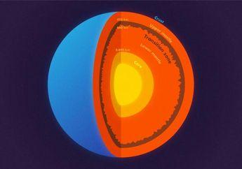 Melalui Gempa Besar, Ilmuwan Ungkap 'Gunung' di Bawah Permukaan Bumi
