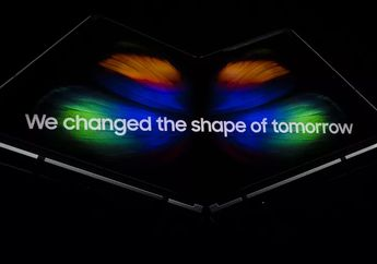 Galaxy Fold: Ponsel Layar Sentuh Lipat Samsung Resmi Diluncurkan!